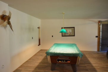 Downstairs Pool Table/Den