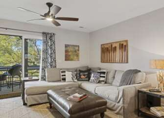 Tastefully remodeled with access to the screened porch