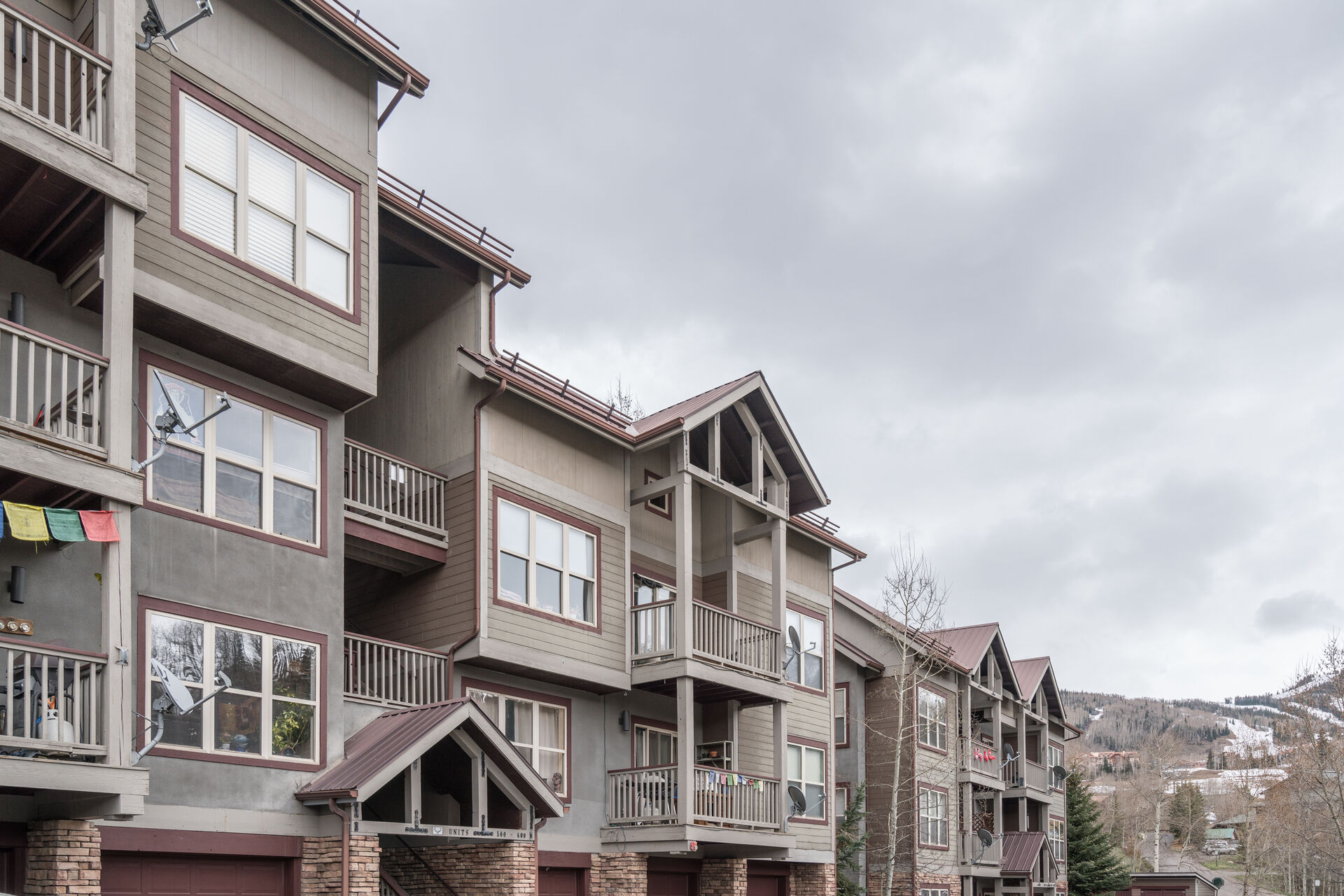 Exterior View of the Complex in Telluride