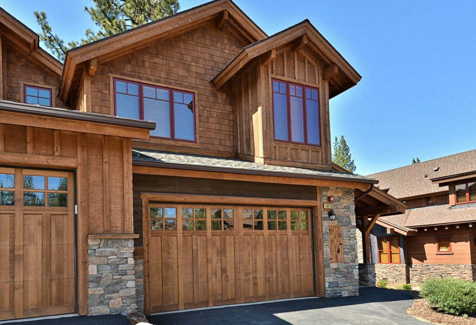 An Image of the Garage Attached to Our Vacation Rental in Truckee CA.