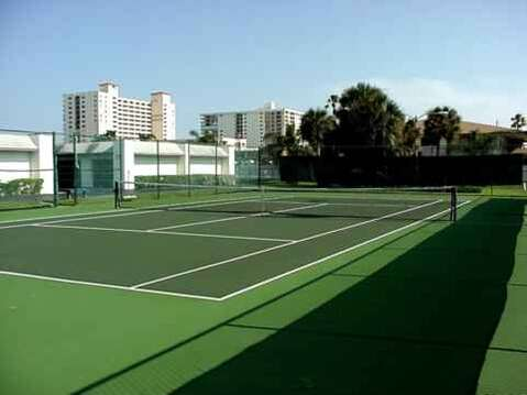 Tennis court on site for you to use