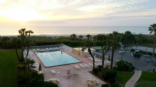You won't want to miss the incredible sunrises from your balcony!