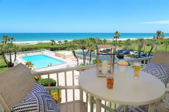 Direct ocean front views from your private balcony