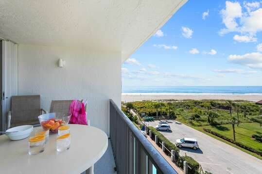 Partial ocean view from your private balcony