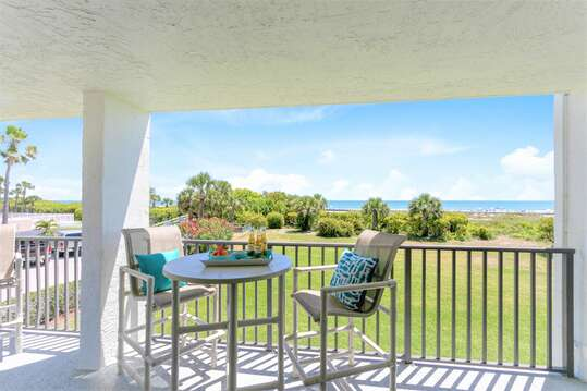Direct ocean view from your private & spacious balcony