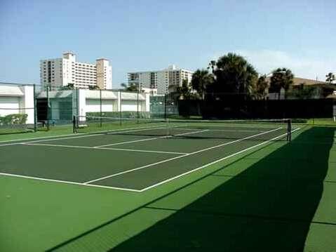 Onsite tennis!