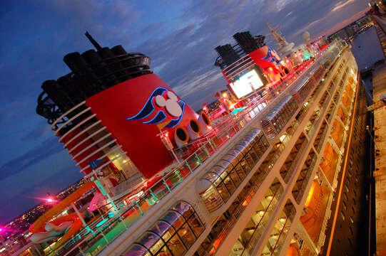 Cruise ship terminal a couple miles away