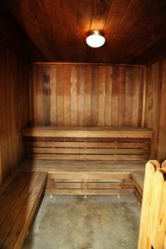 Sauna at Cape Winds