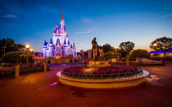 Disney's closest beach! The park is an hour away