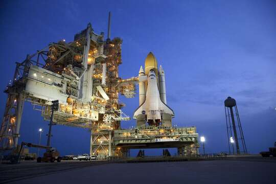 Kennedy Space Center is only 25 minutes away