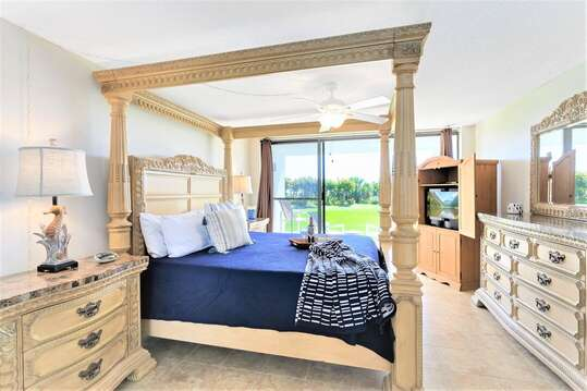 Settle into this huge master bedroom