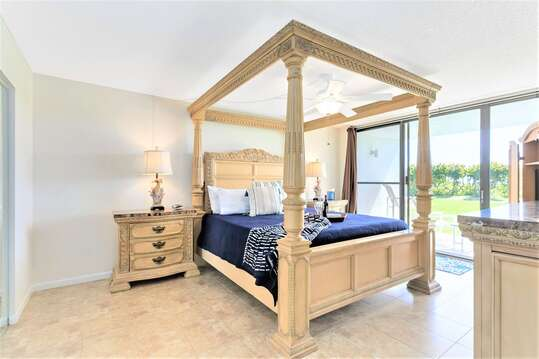 Stunning Master Bedroom with King Bed, TV, Closet & Ensuite- enjoy the view from your bed!