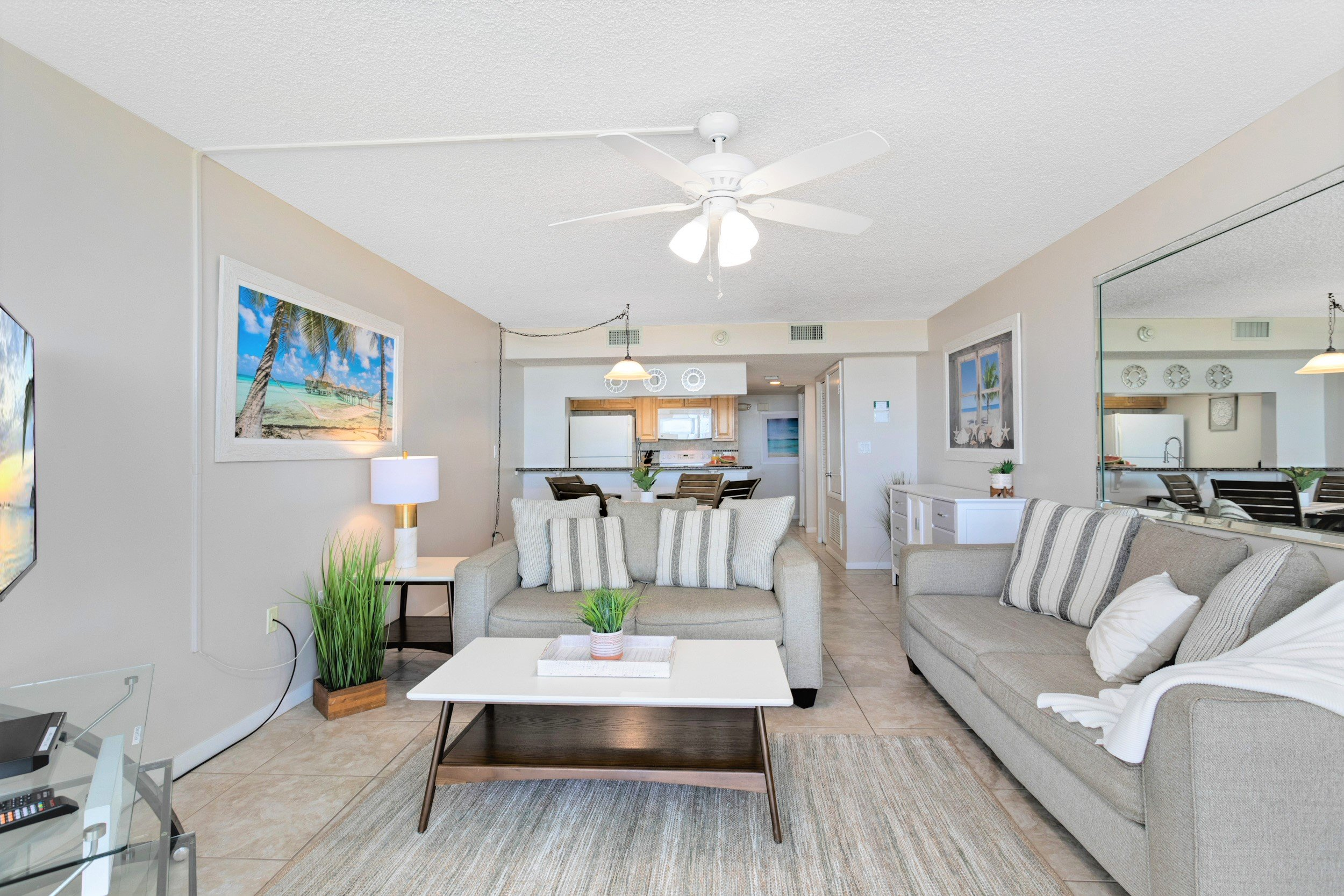 Relax and unwind in this spacious oceanfront unit