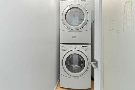 In-suite washer and dryer available for your convenience