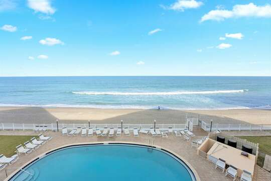Million $ direct oceanfront view! Walkout from the living room & master bedroom!