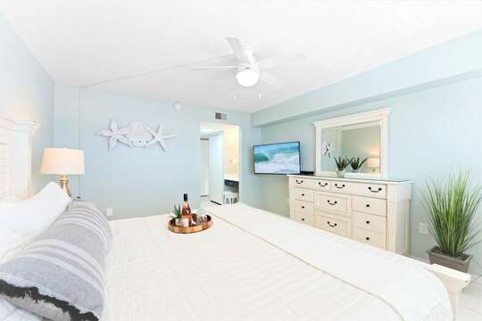 Relax in your master bedroom oasis