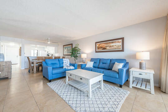 Living room with walkout balcony, 55