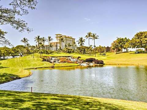 Community Waterway at the Oceanfront Ko Olina Resort
