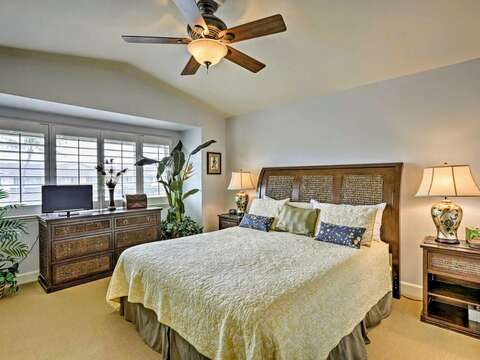 Master Suite with California King in our Ko Olina Hillside Villa