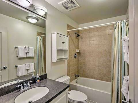 Full Bathroom in our Ko Olina Hillside Villa