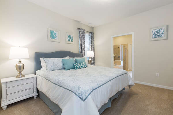 You`ll feel right at home in this comfortable downstairs master bedroom