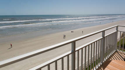 Take a stroll with your neighbors on our non-driving beach.