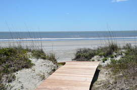 Private Boardwalk to the Beach