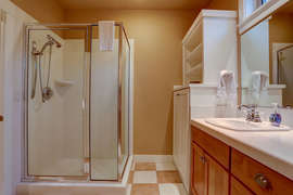 Downstairs Private Master Bathroom