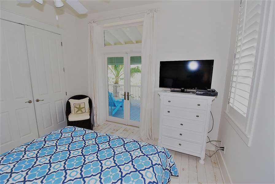 3rd Bedroom; Queen Size Bed Located on the 3rd Floor