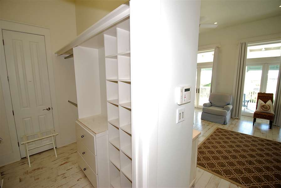 Master Walk-in Closet Located on the 3rd Floor