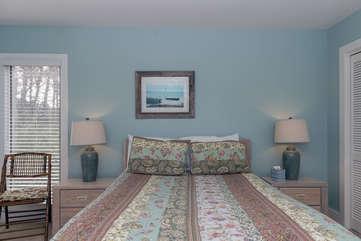 3rd bedroom features a queen bed.