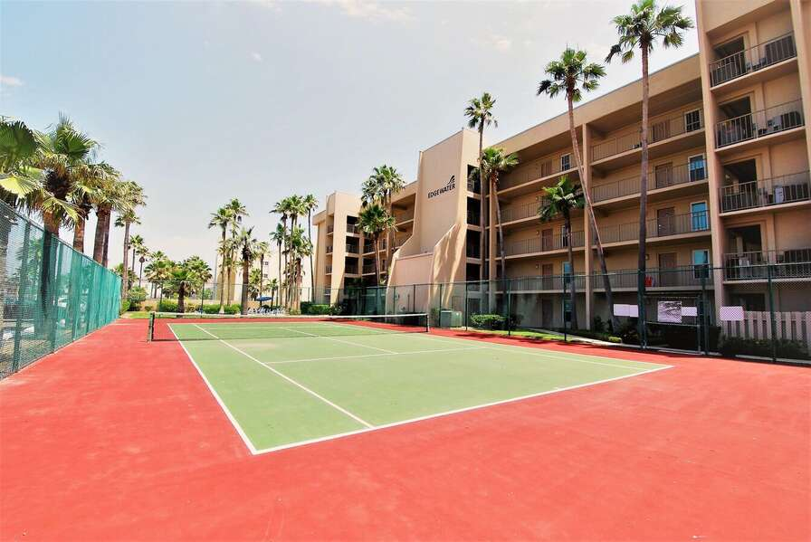 Bring your rackets and balls; We have a Tennis Court!