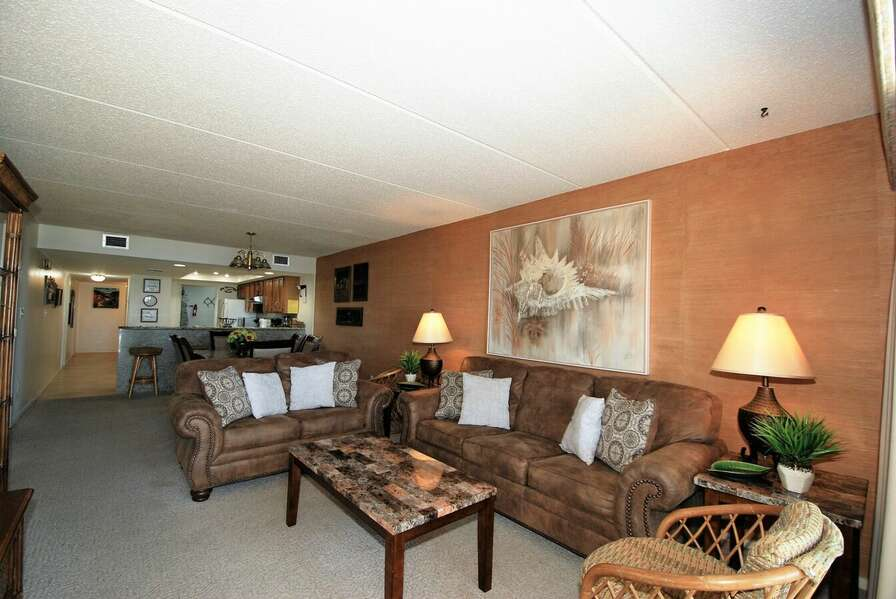 Living Room- Over looks the gulf of Mexico