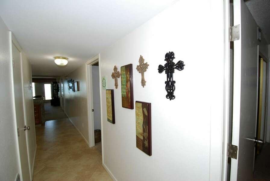 Entry Hallway into the condo