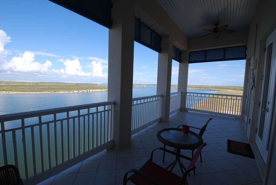 Master Bedroom balcony overlooking the bay3rd Floor