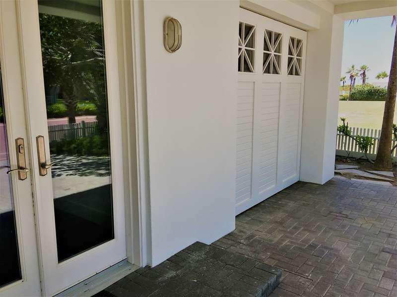 Garage and entry door