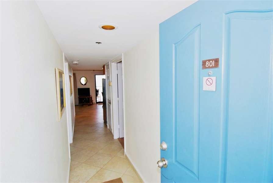 Entry to condo