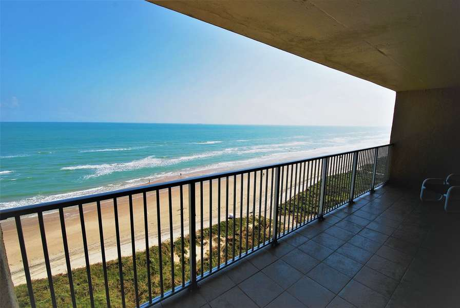 Private Balcony overlooking the beach and Gulf of Mexico