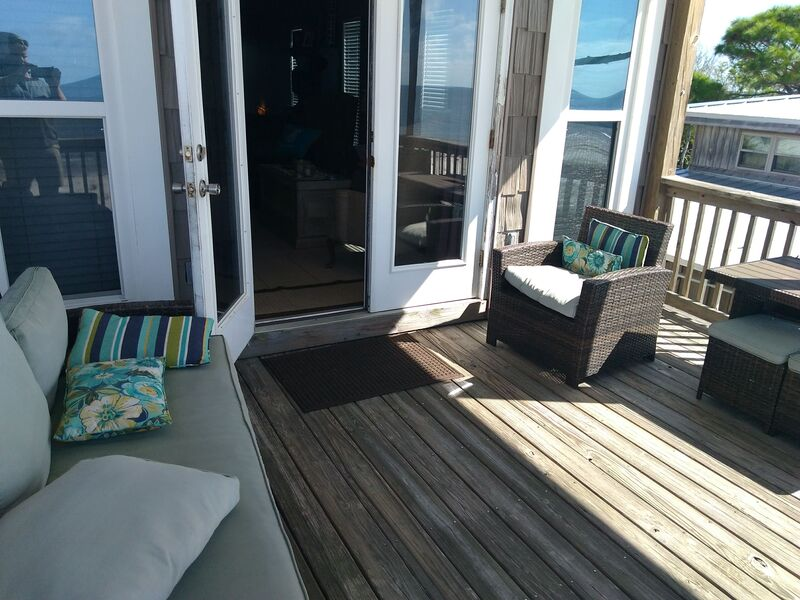 Second Floor Covered Deck