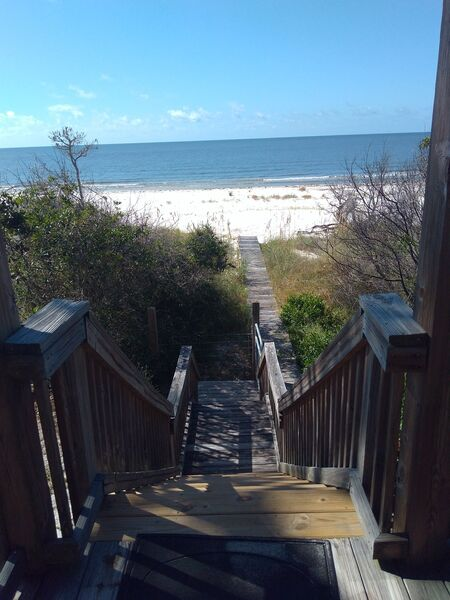 Steps from House to Beach Boardwalk