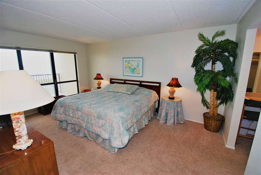 Master: Watch the Sunrise from Bed - Carpeted Flooring