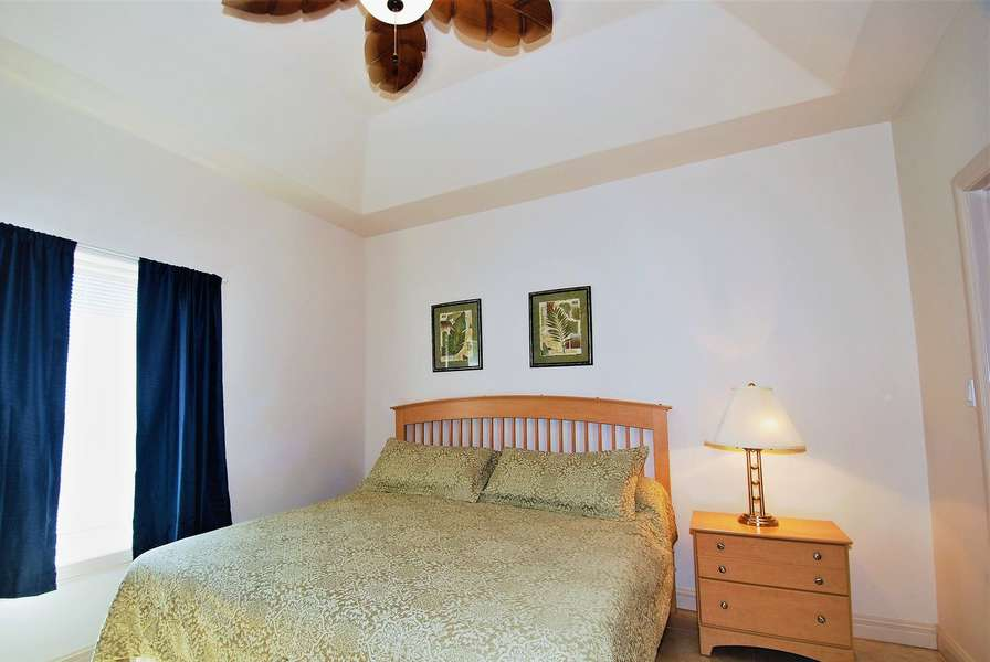 Master bedroom  / 1 king bed