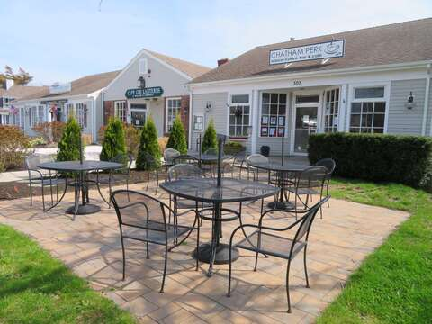 Bike over to Chatham Perk for your morning coffee- Chatham Cape Cod New England Vacation Rentals