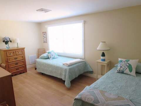 Bedroom #3 2 Twin beds , dresser and desk.80 Landing Lane Chatham Cape Cod - New England Vacation Rentals