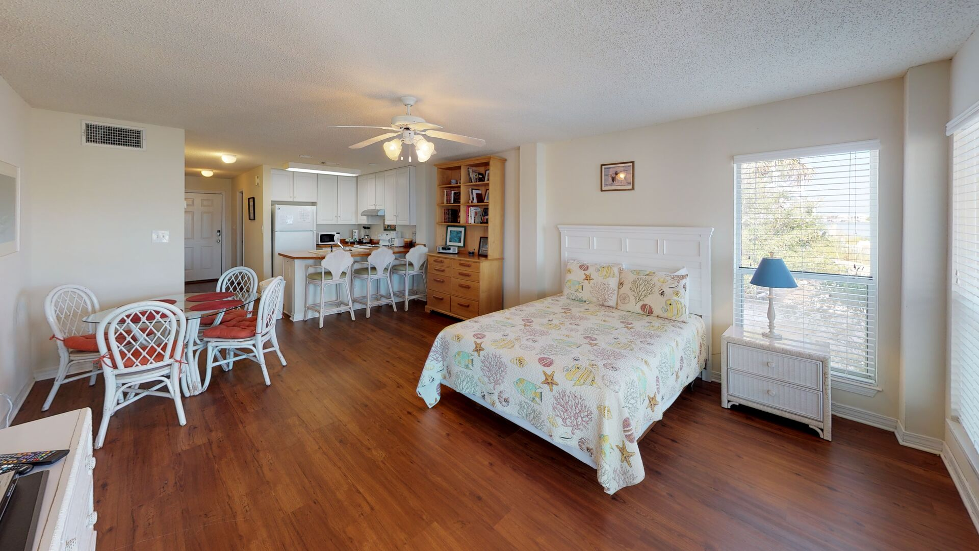 Ground floor features a studio apartment with separate entrance