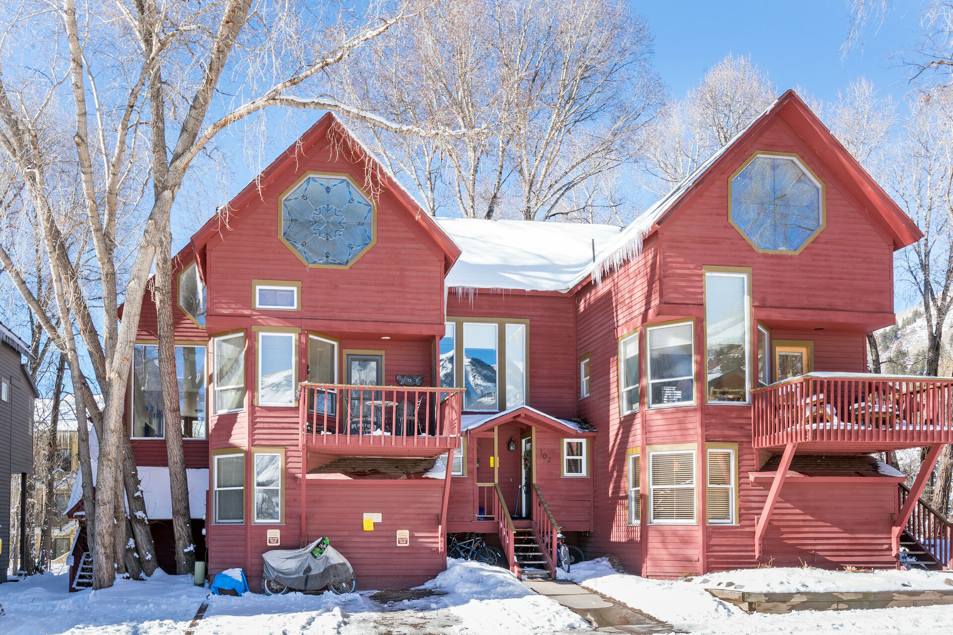 Front Picture of our Telluride Condo Rental