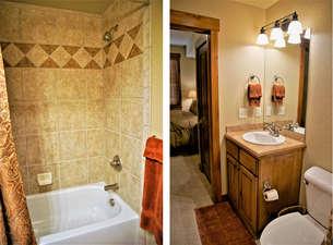 Nice bathroom within Bedroom 2