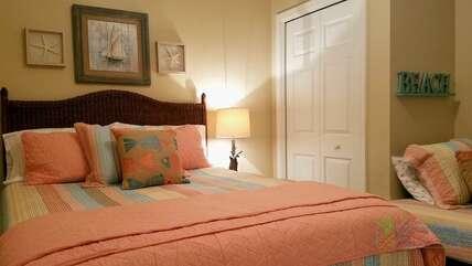 Queen Bedroom + Twin