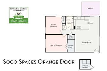 Soco Spaces: Orange Door Floor Plan