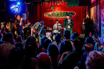 Visit Austin's historic and legendary Continenal Club for a night of music you'll never forget.